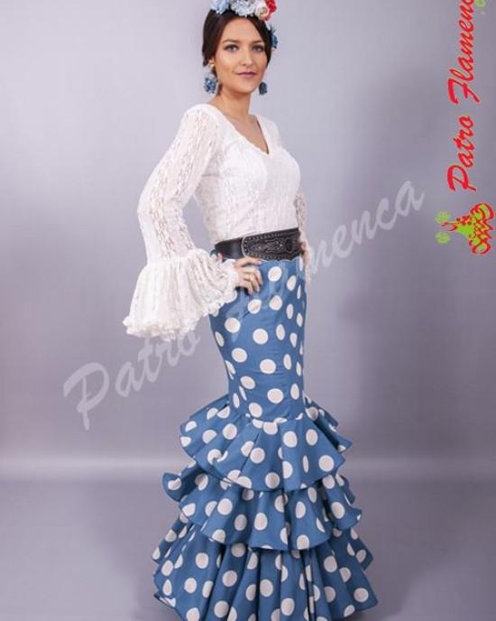 Falda Elenco Lunar Flamenca