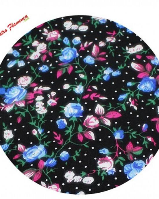 Pajarita-Pañuelo Estampado Flores