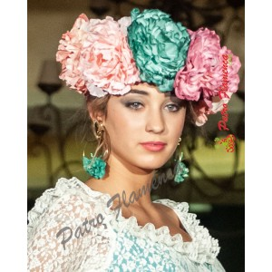 Flor Peonia Mediana