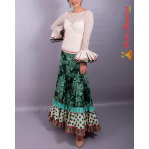 Traje Caseta 3 Flamenca