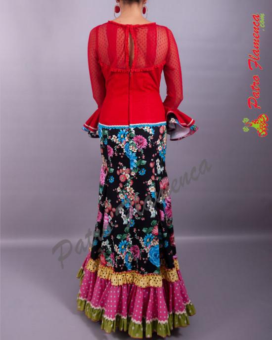 Traje Caseta 4 Flamenca
