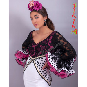 Traje Pasodoble Flamenca