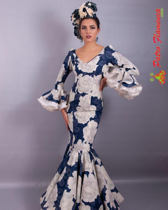 Traje Verdiales Flamenca