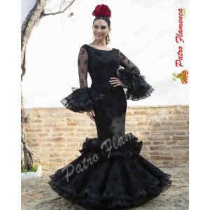 Traje Abanico Especial Flamenca