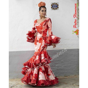 Traje Andaluza Flamenca