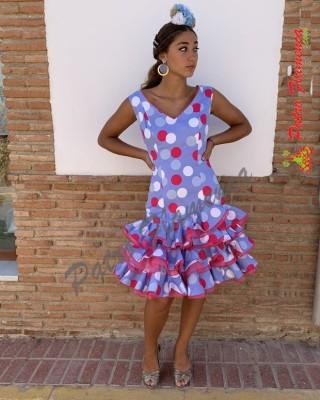 Traje Málaga Corto Flamenca