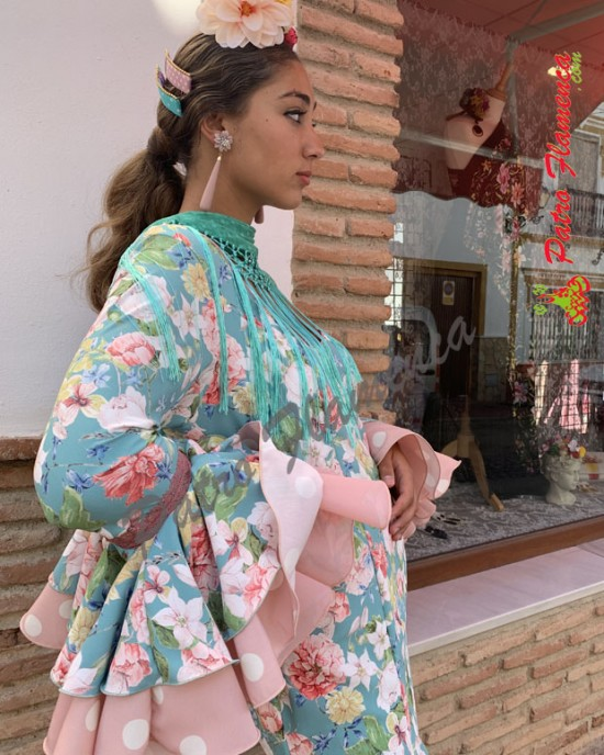 Traje Flores Flamenca