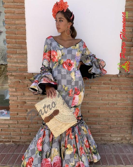 Traje Palenciana Pata de Gallo Flamenca