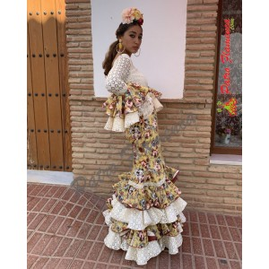Traje Saeta Flamenca