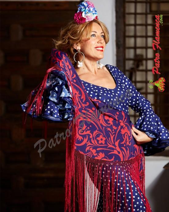 Traje San Benito Flamenca
