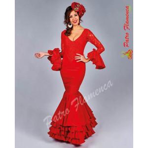 Traje Almogía Flamenca