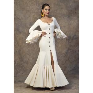 Traje Rocio Flamenca
