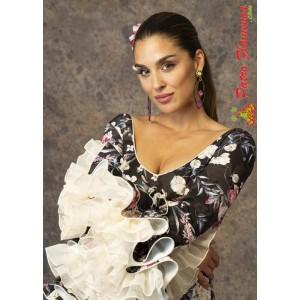 Traje Romance Flamenca