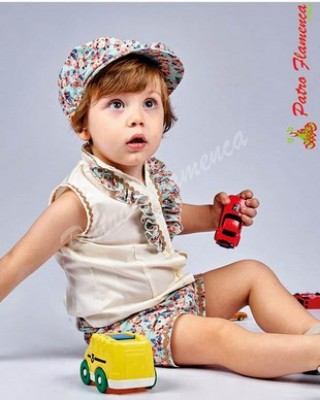 Conjunto Cantora Blusa-Pantalón Niño
