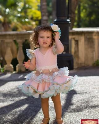 Traje Atenea 1 Flamenca Niña