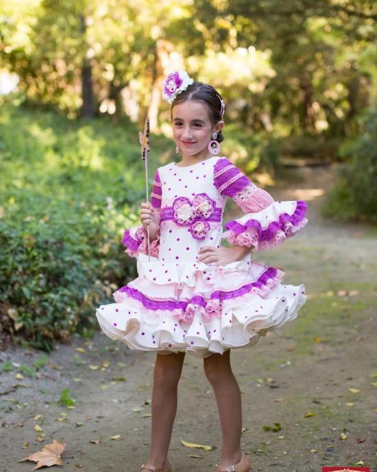 Traje Nereida 3 Flamenca Niña
