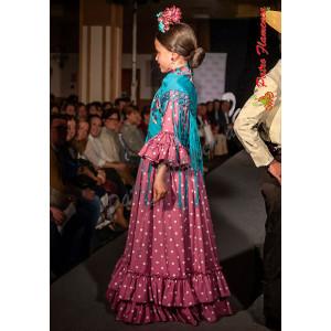 Traje Leo Flamenca Niña