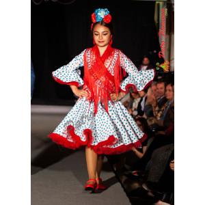 Traje Piscis Flamenca Niña