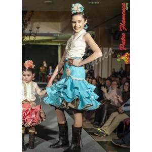 Conjunto Almeria Falda y Blusa Niña
