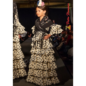 Traje Albolote Flamenca Niña