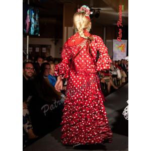 Traje Almuñecar Flamenca Niña
