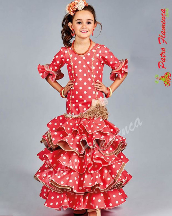 Traje Adra Flamenca Niña