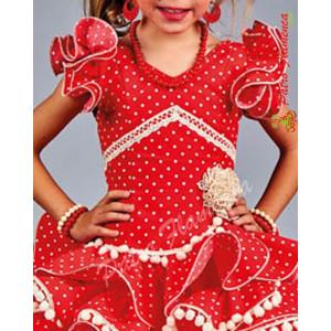 Traje Baena Flamenca Niña