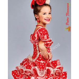 Traje Estepona Flamenca Niña