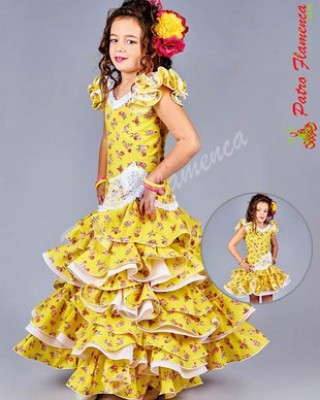 Traje Montalban Flamenca Niña