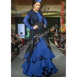 Traje Capricho Especial Terciopelo Flamenca