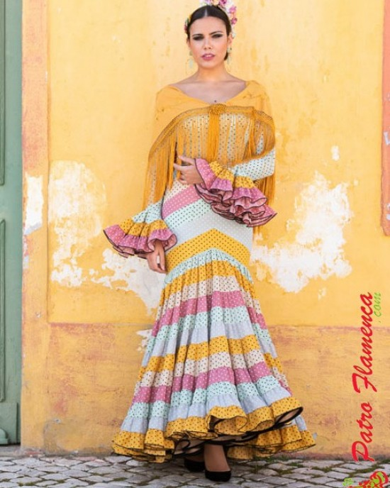 Traje Giralda MM Flamenca