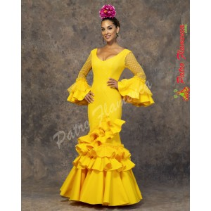 Traje Macarena Flamenca