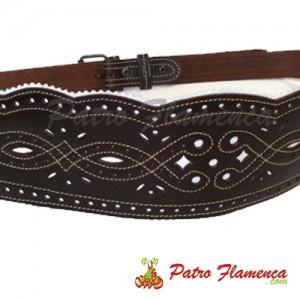 Cinturón Romero Cuero Repujado Sra