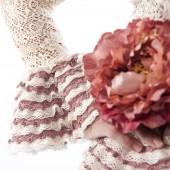 Flor y volantitos