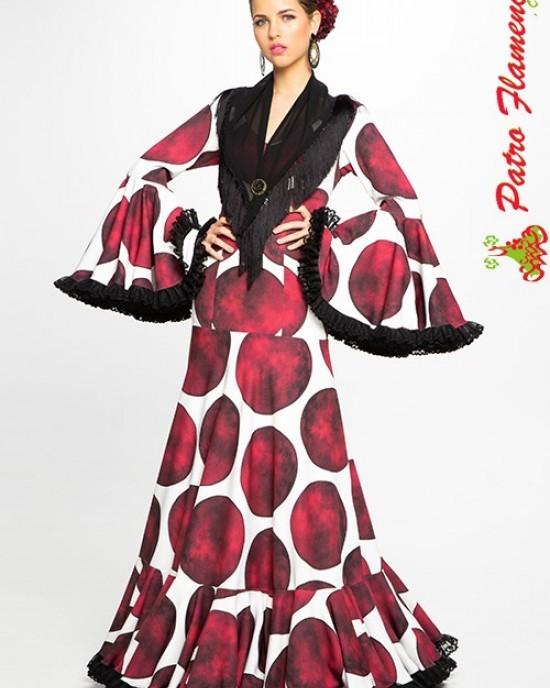 Traje Carruaje Flamenca