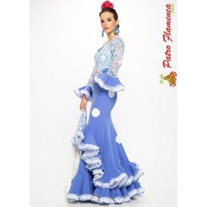 Traje Cielo Flamenca