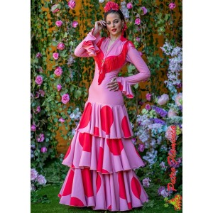 Traje Huelva Flamenca