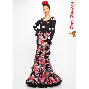 Traje Lirio Flamenca