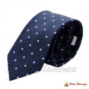 Corbata Azul lunar Celeste