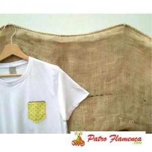 Camiseta Amarilla Lunares