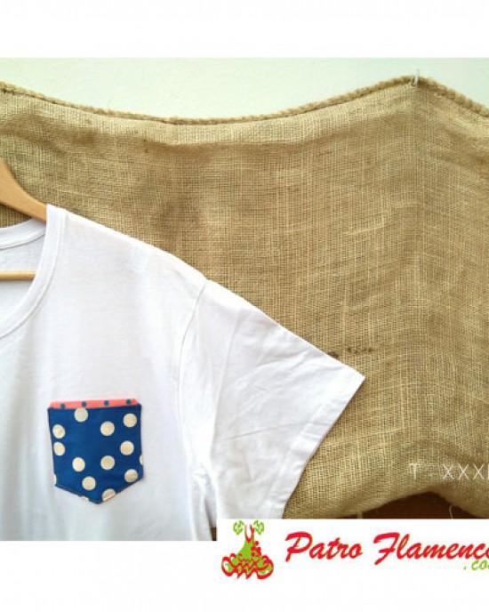 Camiseta Azulina Lunares