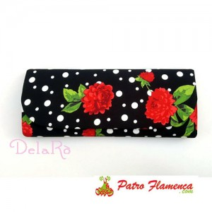 Cartera Lunar y Clavel