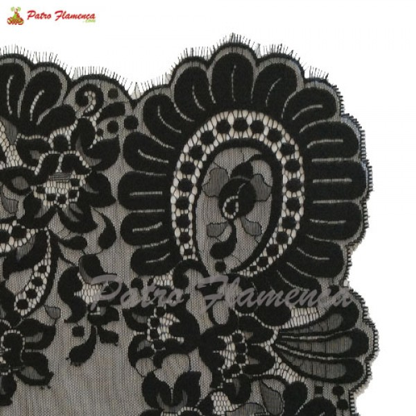 Mantilla 12311-13 Negra