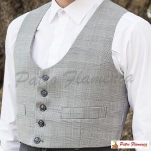 Chaleco Principe de Gales Campero Adulto