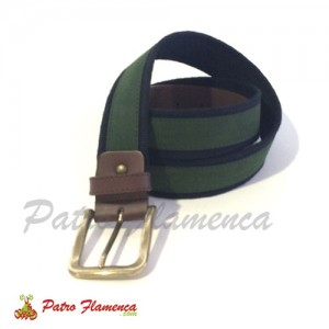 Cinturón Caoso Caballero Piel Bicolor