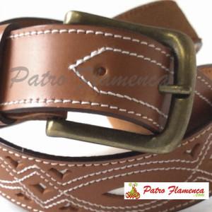 Cinturón Cuero Repujado 3835
