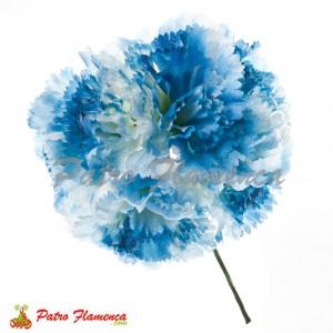 Flor Ramillete 6 Claveles Empolvados