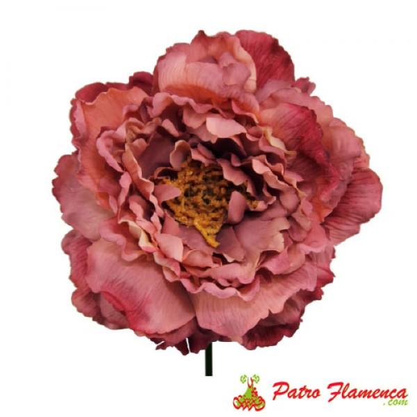Flor Peonia Teñida Señora