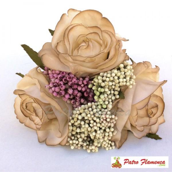 Flor Ramillete Torre del Oro