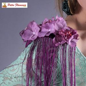 9e9a807aa83a Hombreras Flecos Flores